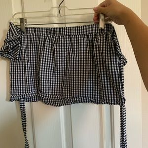 Gingham Black and White shirt